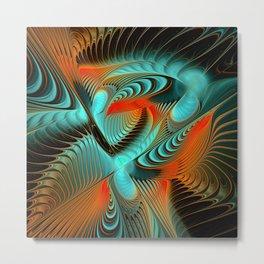 fractal design -114- Metal Print