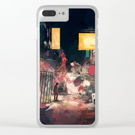 The Closing Hours Clear iPhone Case