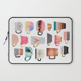 Coffee Cup Collection Laptop Sleeve