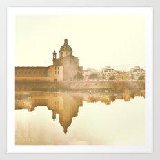 Florence Reflected Art Print