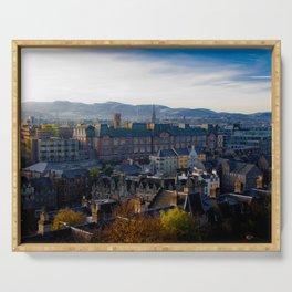 Edinburgh Sunrise Serving Tray