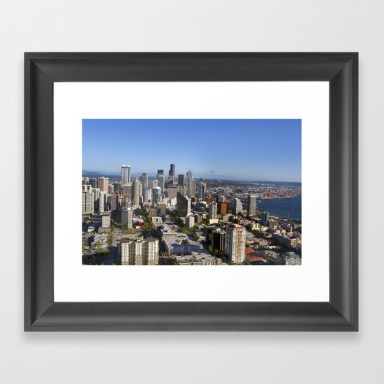 From the Needle Framed Art Print