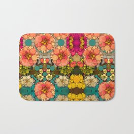 Perky Flowers! Bath Mat