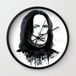 Alan Rickman as Severus Snape Wall Clock