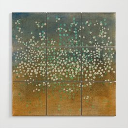 Landscape Dots - Float Wood Wall Art