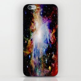 GaLaXY : Orion Nebula Dark & Colorful iPhone Skin