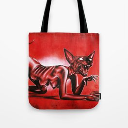 The hungry sphynx Tote Bag