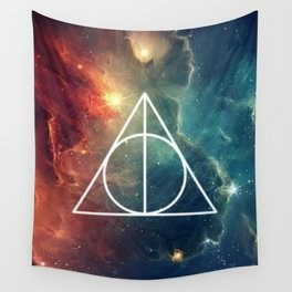 Deathly Hallows Nebula HP Wall Tapestry