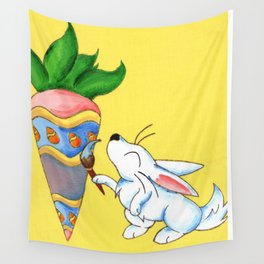 Easter Carrot Wall Tapestry