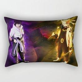 Naruto ANd Sasuki Rectangular Pillow