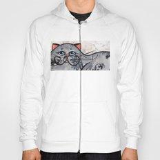 Grey Cat Hoody