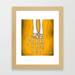 Fall away Framed Art Print