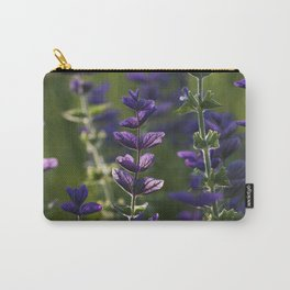 Purple Bow Ties Carry-All Pouch