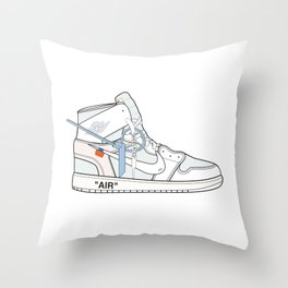 Jordan x Off-White II Throw Pillow
