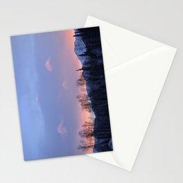 Chugach Mts Serenity Sunrise - II Stationery Cards