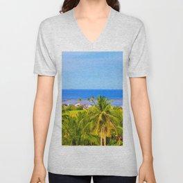 Beautiful Beach Unisex V-Neck