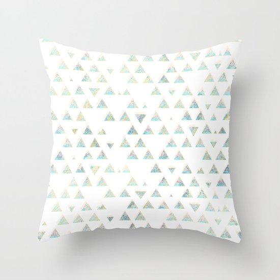 pattern no. 3 / missing summer Throw Pillow