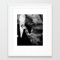 kindle Framed Art Prints featuring Kindle by Erin Case