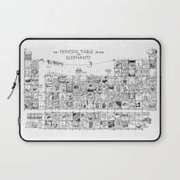 Periodic Table of the Elephants Laptop Sleeve