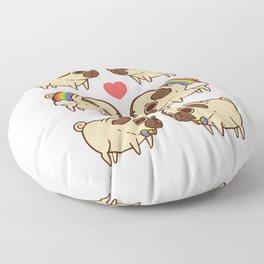 Puglie Pride Floor Pillow