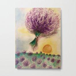 Lavender Feild Metal Print