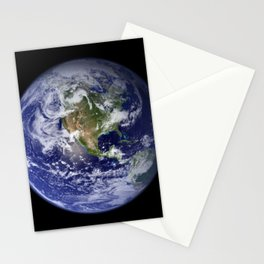 Planet Earth - The Blue Marble From Space Stationery Cards