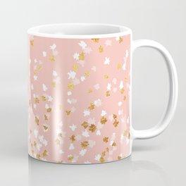 Floating Confetti - Pink II Coffee Mug