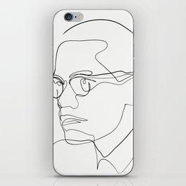 Malcolm iPhone Skin