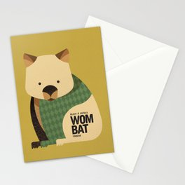 Hello Wombat Stationery Cards
