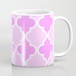 Quatrefoil - light pink dual Coffee Mug