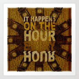 It happens!  Art Print