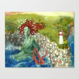 Daughter of the Ocean Canvas Print