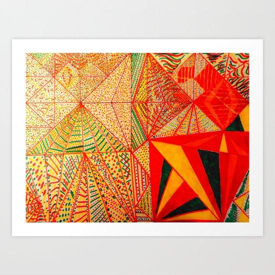 DayTrippin' Art Print