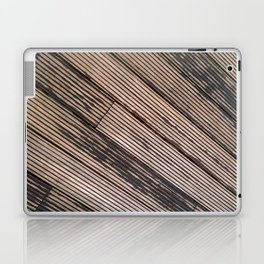 Lines at the ground Laptop & iPad Skin