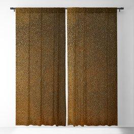 Antic Gold paint texture Blackout Curtain
