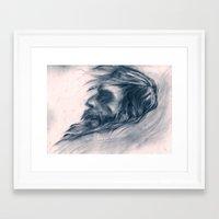 john snow Framed Art Prints featuring Snow Angel by Kent St. John