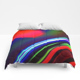 Seismic Folds Comforters