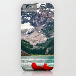 Canada Photography - Red Kayaks iPhone Case
