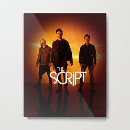 the script sunsets and full moons tour 2020 muncrat Metal Print