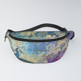 The Royal Peacock Fanny Pack