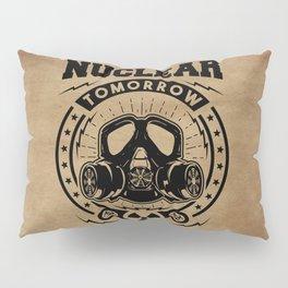 Nuclear Tomorrow vintage Pillow Sham