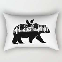 THE BEAR AND THE EAGLE Rectangular Pillow