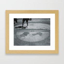 Boston Marathon Framed Art Print
