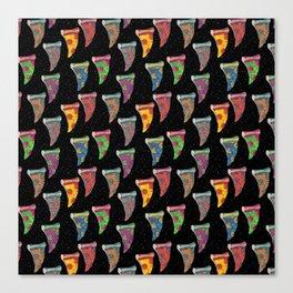 pizza galaxy fortune Canvas Print