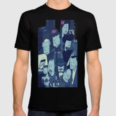 Blade Runner Mens Fitted Tee Black MEDIUM