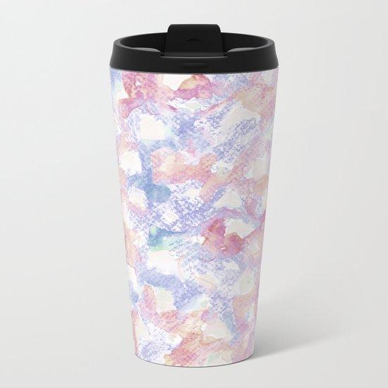 Abstract pattern 12 Metal Travel Mug