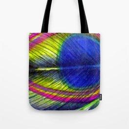 Violet Fringed with Golden Amber Tote Bag