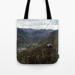 Telluride gondolas Tote Bag