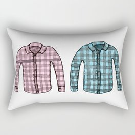 Flannel shirts Rectangular Pillow
