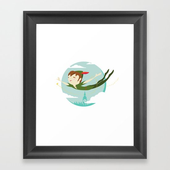 Storybook Pan Framed Art Print